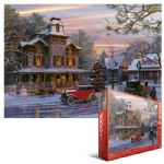 Driving Home for Christmas 1000 Piece Puzzle by Dominic Davidson